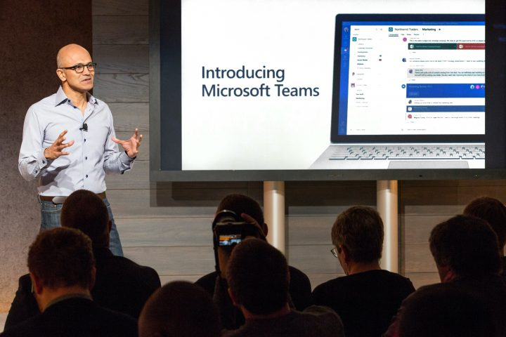 Microsoft Teams announcement